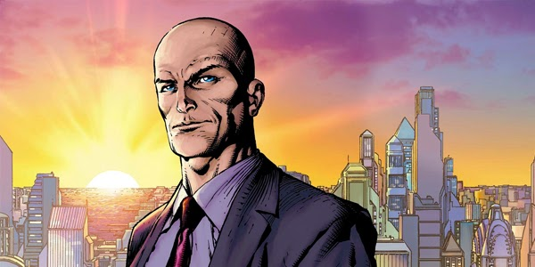 Lex Luthor en el cómic Origenes de Superman
