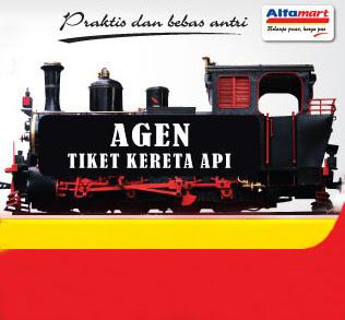 Tiket KA, Beli tiket KA di Alfamart, Agen tiket Kereta Api, Tiket Kereta Api online