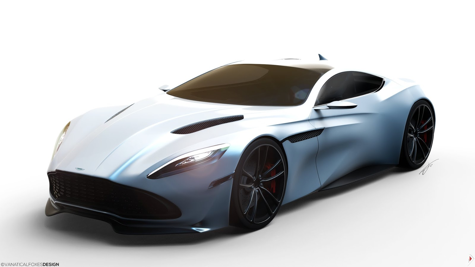 15 Year Old Thai Renders New Aston Martin DB11 Carscoops