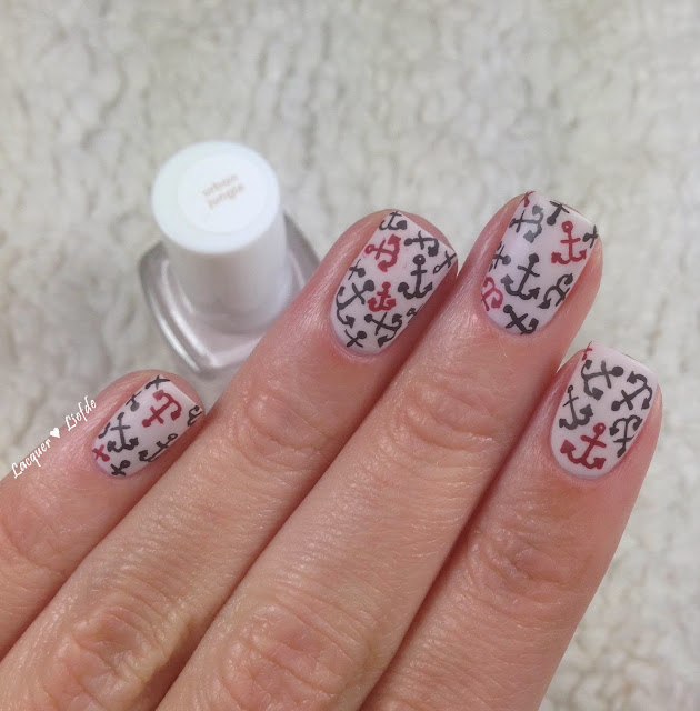 Essie Urban Jungle Anker Nail Design