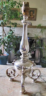 French or English Art Nouveau Lamp