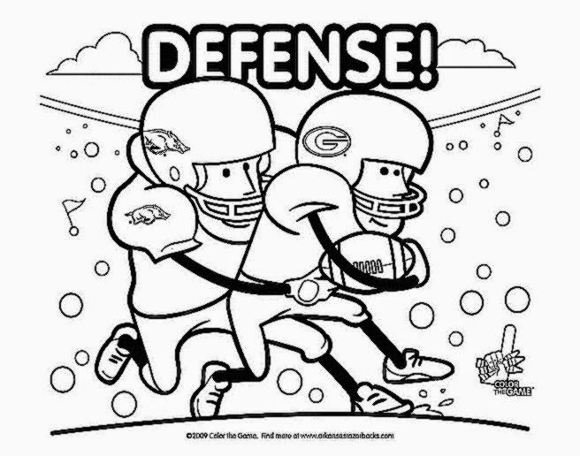 Arkansas razorback free coloring pages for Arkansas coloring pages