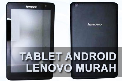Tablet Android Murah Lenovo