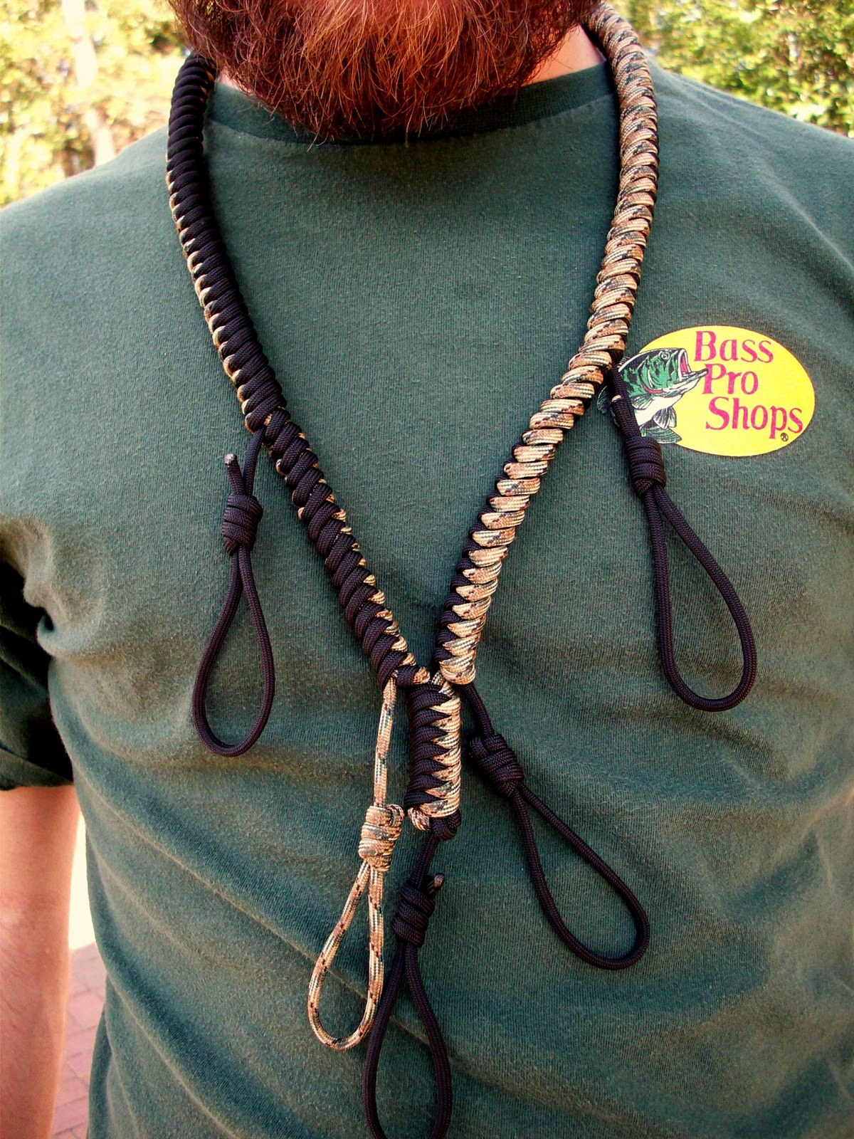 A Paracord Man Project First Para Cord Duck Call Lanyard