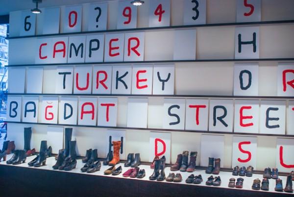 Camper talking shop Estambul Marti Guixé tienda parlante