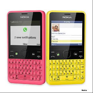 Bright, budget-friendly Nokia Asha 210