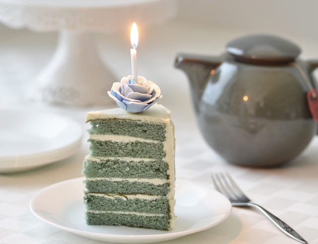 Earl Grey & Vanilla Bean Birthday Cake