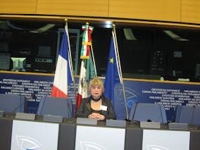 🇪🇺Morgane BRAVO au Parlement Européen à Strasbourg.