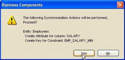 confirmar sincronizacion