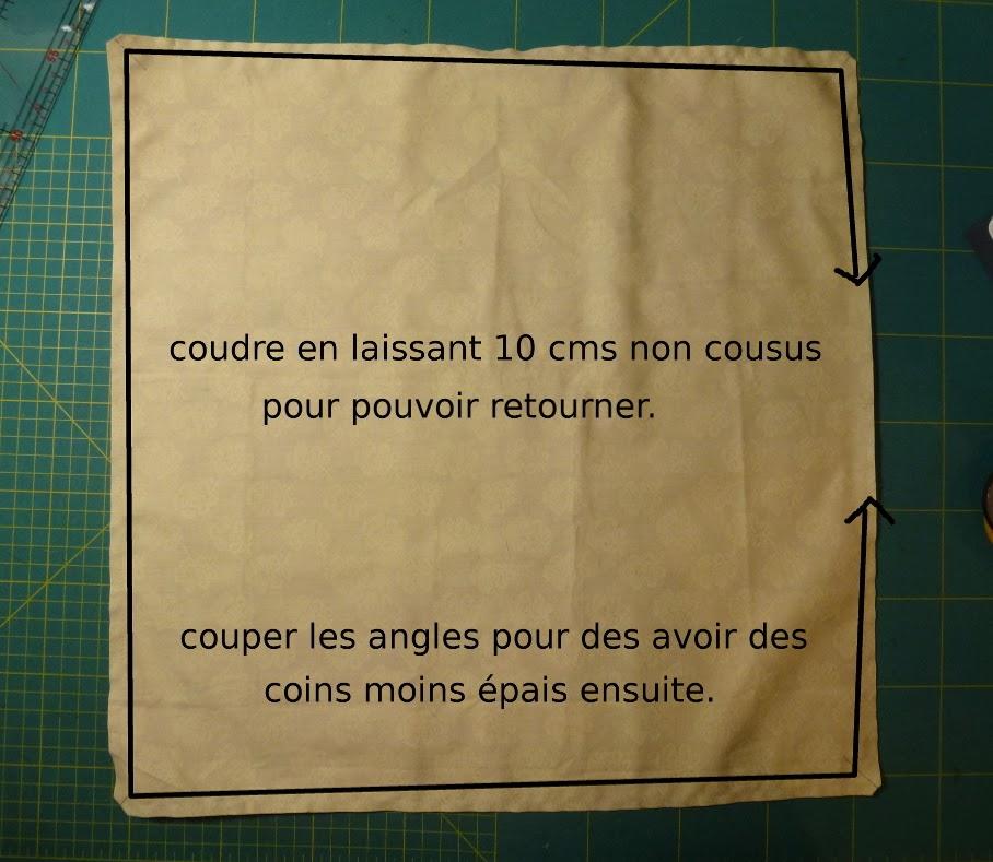 Des tulipes et des coeurs sac en origami et son tuto for A coudre en anglais