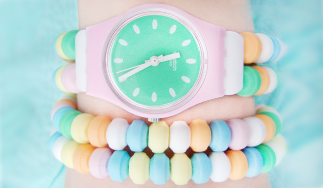 candy watch, Swatch, Caramellissima