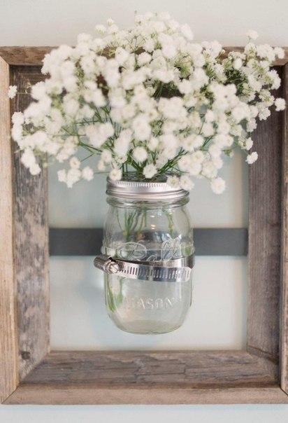 Настенная ваза своими руками