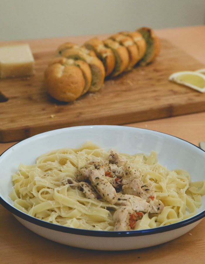 Lemon Chilli and Chicken Pasta