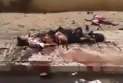 Victimas del Bombardeo de Israel contra Gaza