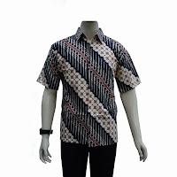 Model Busana Batik Kerja Pria