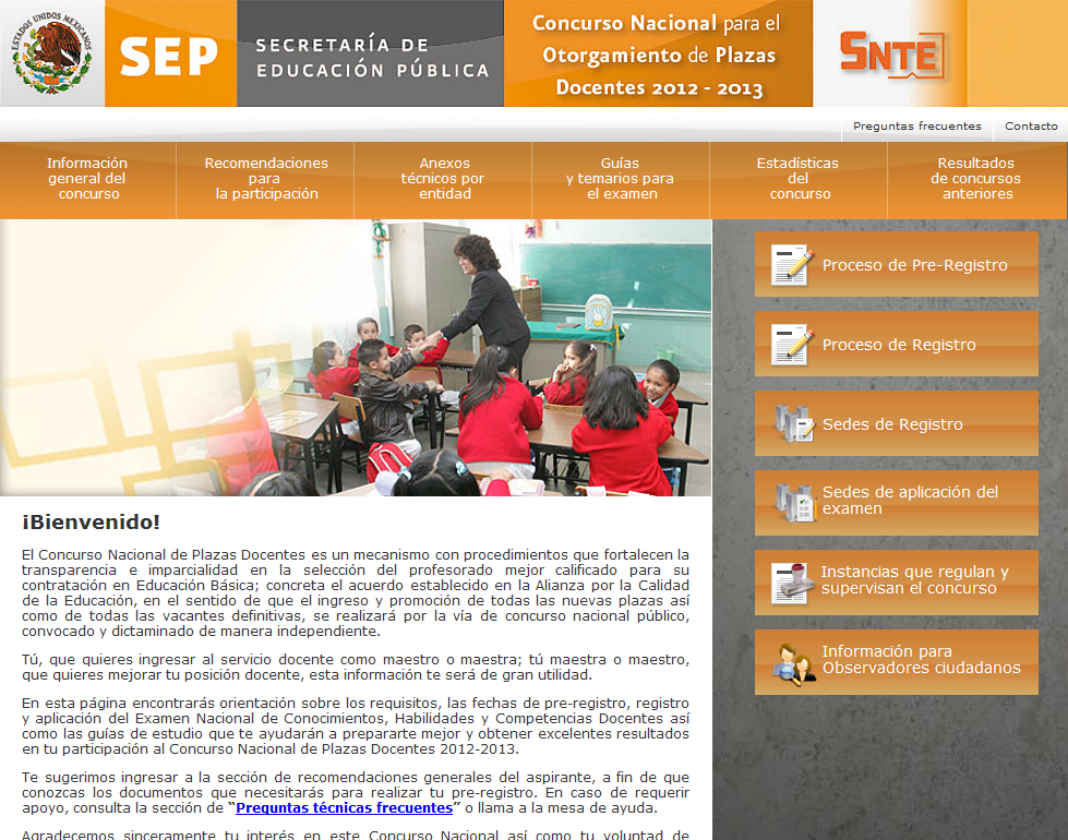 Examen Oposicion Alianza 2012-2013 Resultados 22 de Julio Mexico