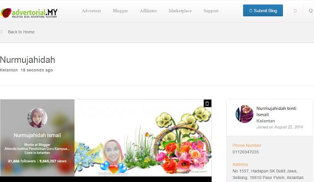 laman web untuk blogger, tawarkan servis sebagai blogger, jana pendapatan sebagai blogger