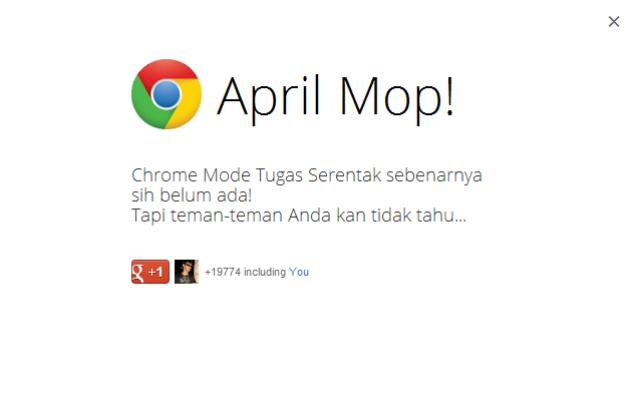 Daftar April Mop Ala Google