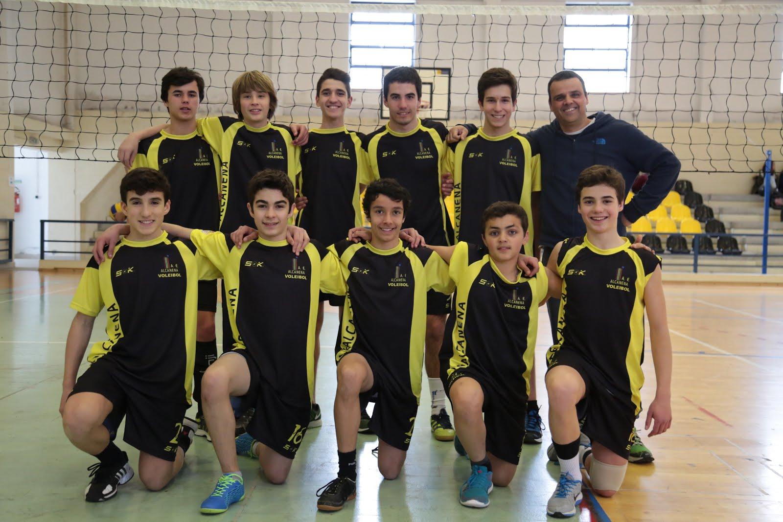 Equipa de Iniciados 2015/16