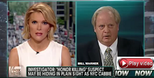 VIDEO: FOX NEWS MEGYN KELLY & PI BILL WARNER TRACK KILLER TAXI DRIVER YASER SAID NYC