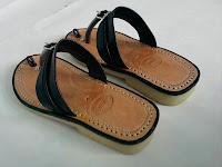 Sandal tarumpah asli Tasikmalaya