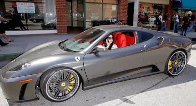 Kim Kardashian's Ferrari F430