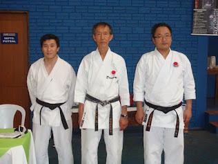Com nosso Mestre Yasuyuki Sasaki