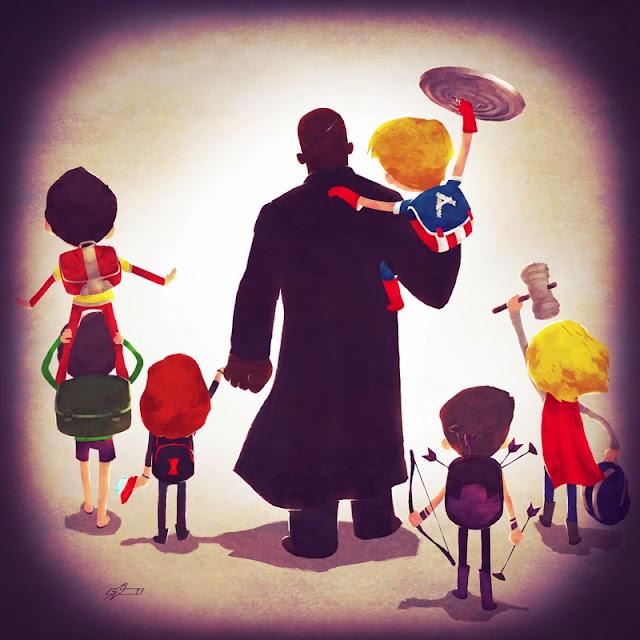 Объединяя супергероев
