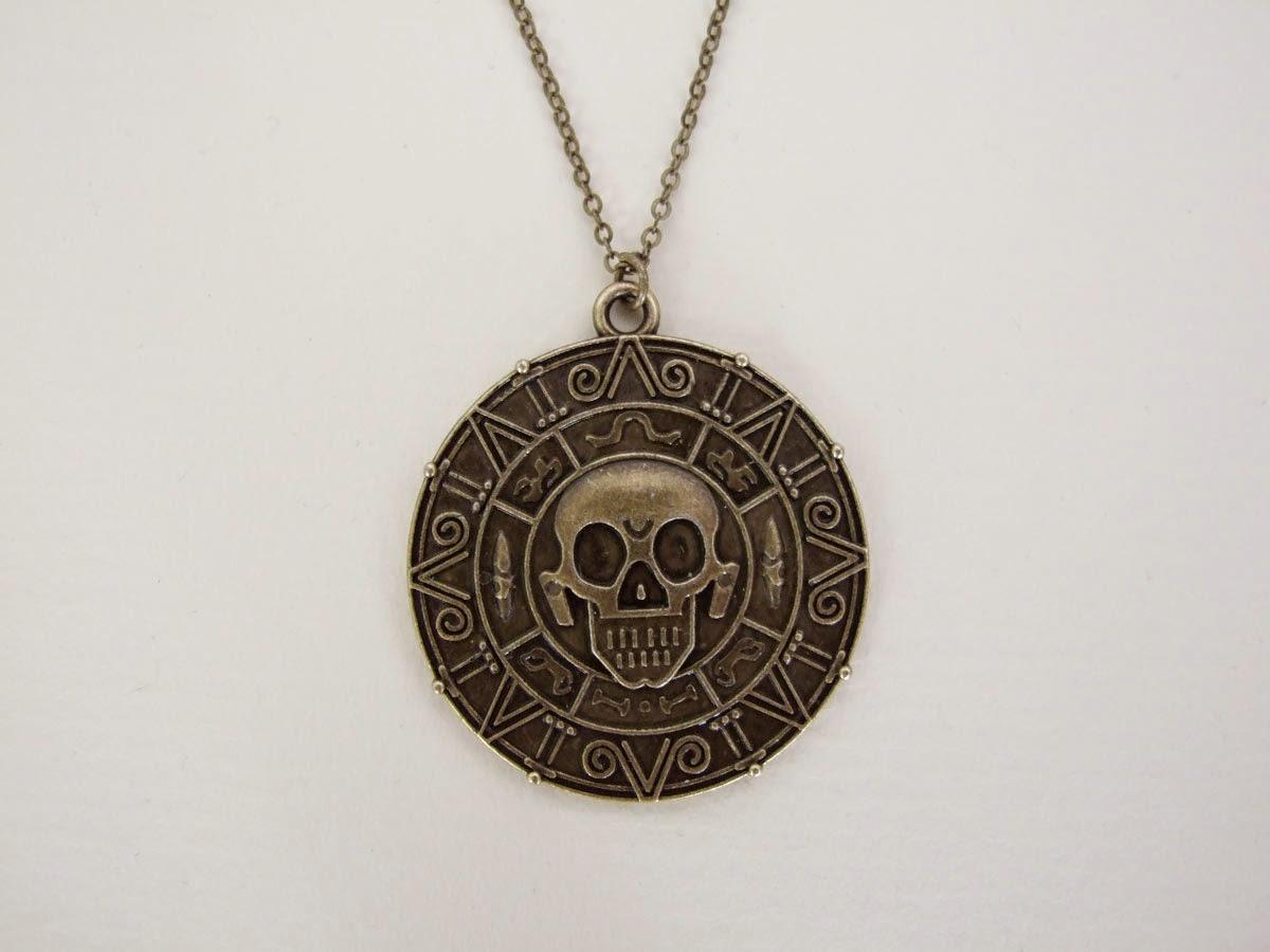 Medallón Piratas del Caribe