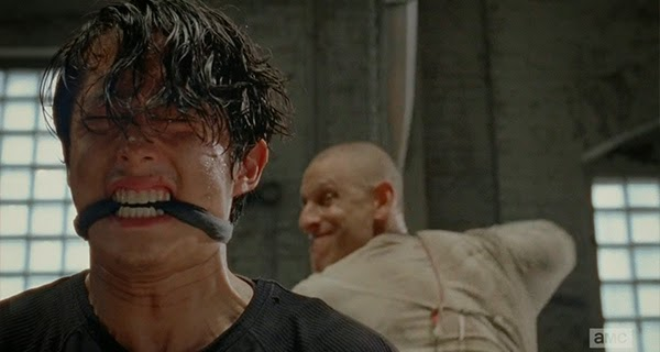 Glenn en The Walking Dead 5x01