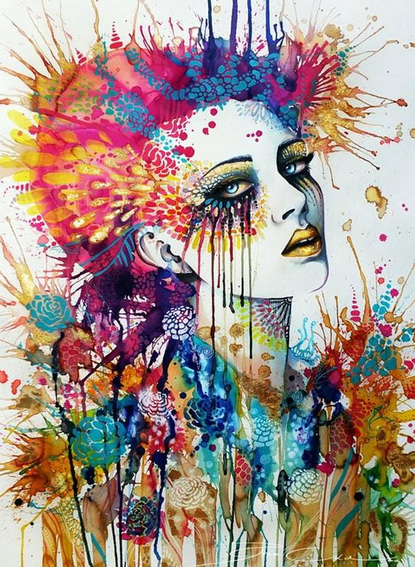 pinturas-modernas-de-rostros-femeninos