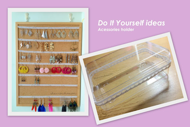 DIY Lace Earrings Board and Accessories Box