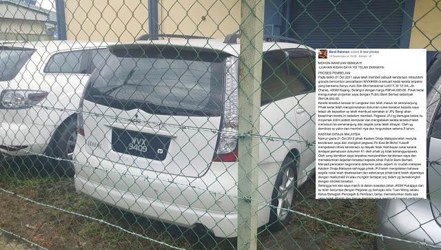Kisah Pembeli Kereta Teraniaya Dengan Sindiket Pemalsuan Dokumen.. Mohon Viralkan!!