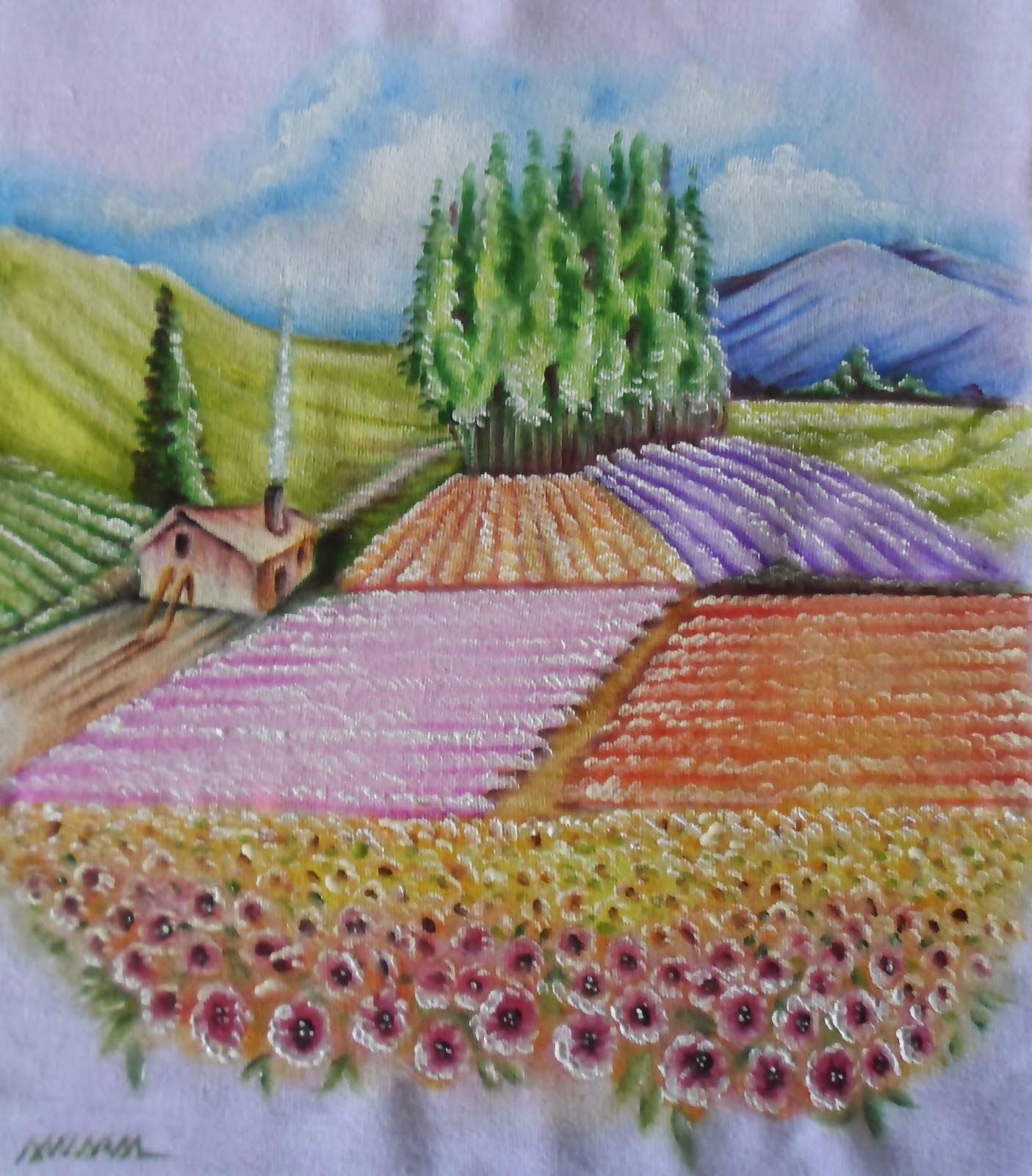 Plantação de Flôres