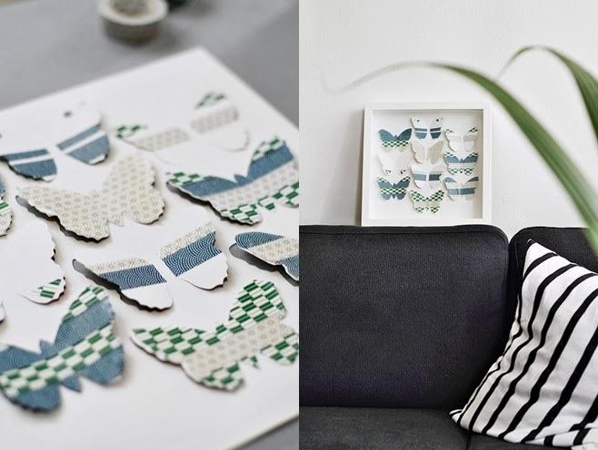 DIY en decoración: Cuadros de Ikea personalizados