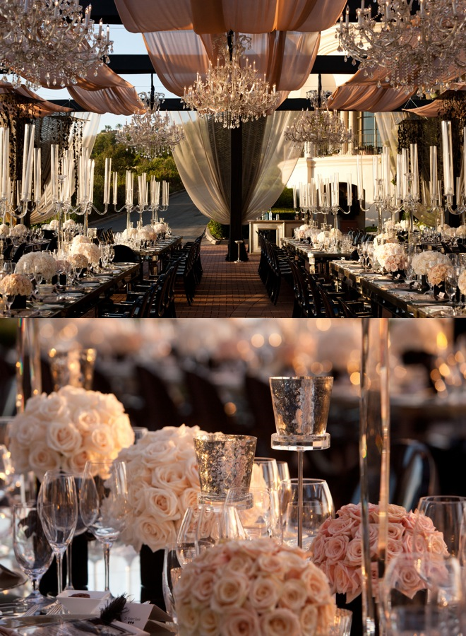 Sonal J. Shah Event Consultants, LLC: Black and White Reception Ideas