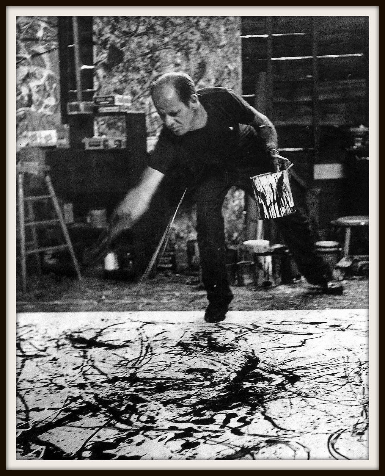 jackson pollocks career essay Exhibition of jackson pollock's black paintings to open exclusively at dallas museum of art in november jackson  artist's career and provides radical new .