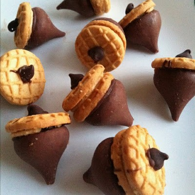 Acorn cookies Aubri helped me make these when she was 1! Cute and ...