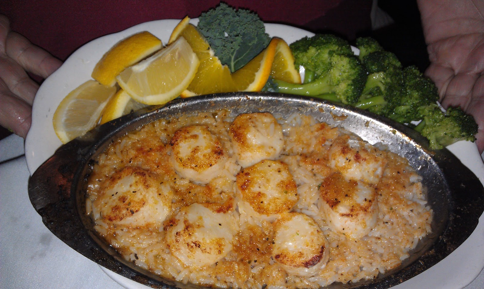 Baked Scallop Recipes My dad had scallops over rice,
