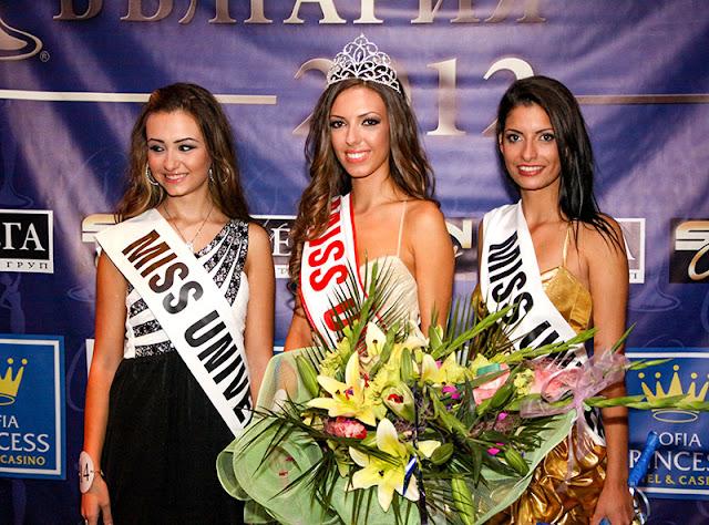 Miss Universe Bulgaria 2012 winner Zhana Yaneva