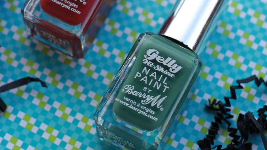 vernis à ongles gelly barry m