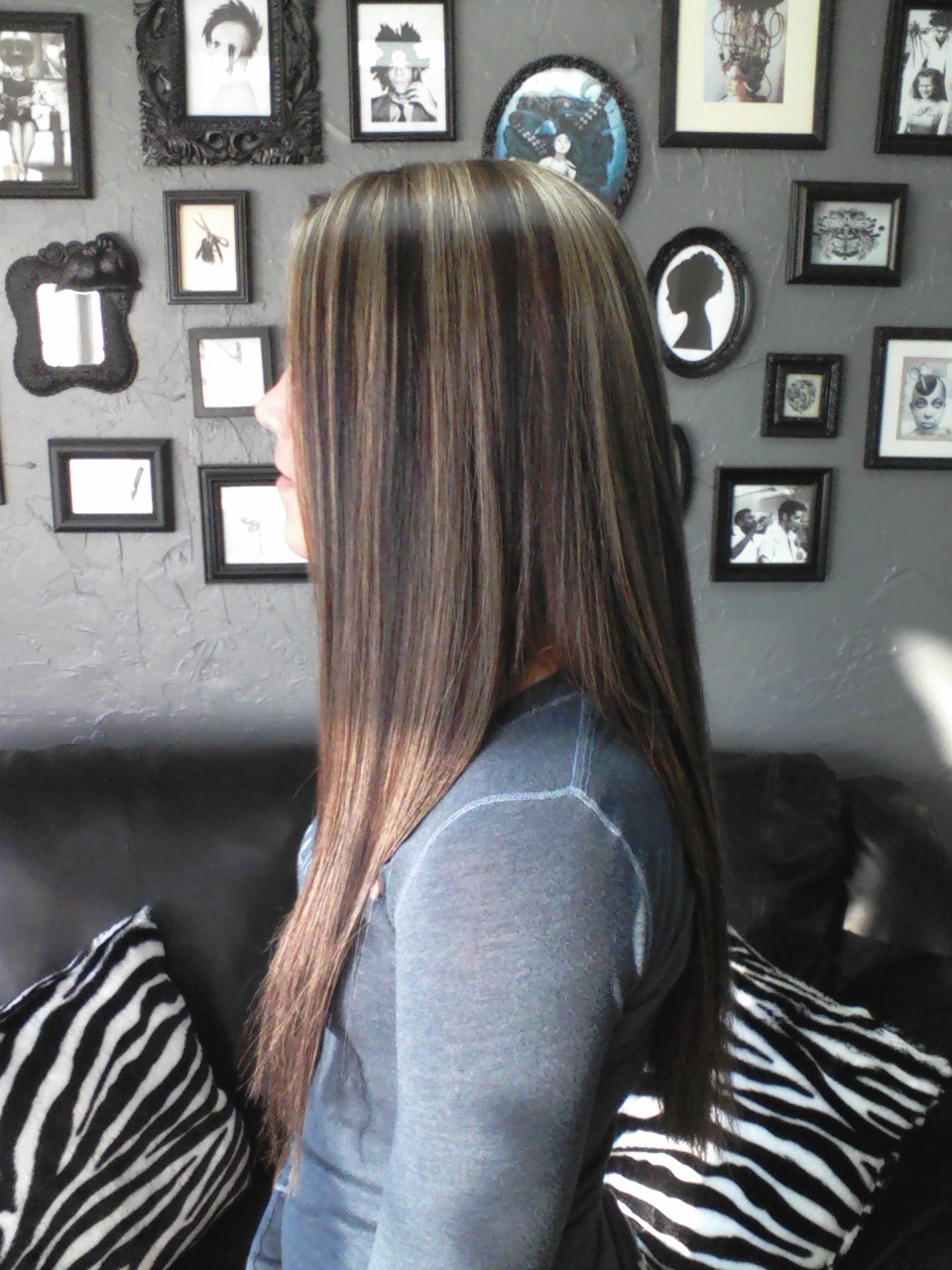 Hair With Highlights