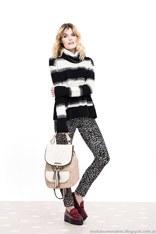 Sweaters y poleras invierno 2015 Vitamina.