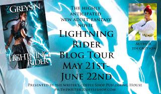 Lightning Rider tour banner