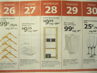 Ikea after Christmas sale