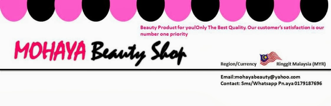 Mohaya Beauty Shop Pemborong Produk Kecantikan