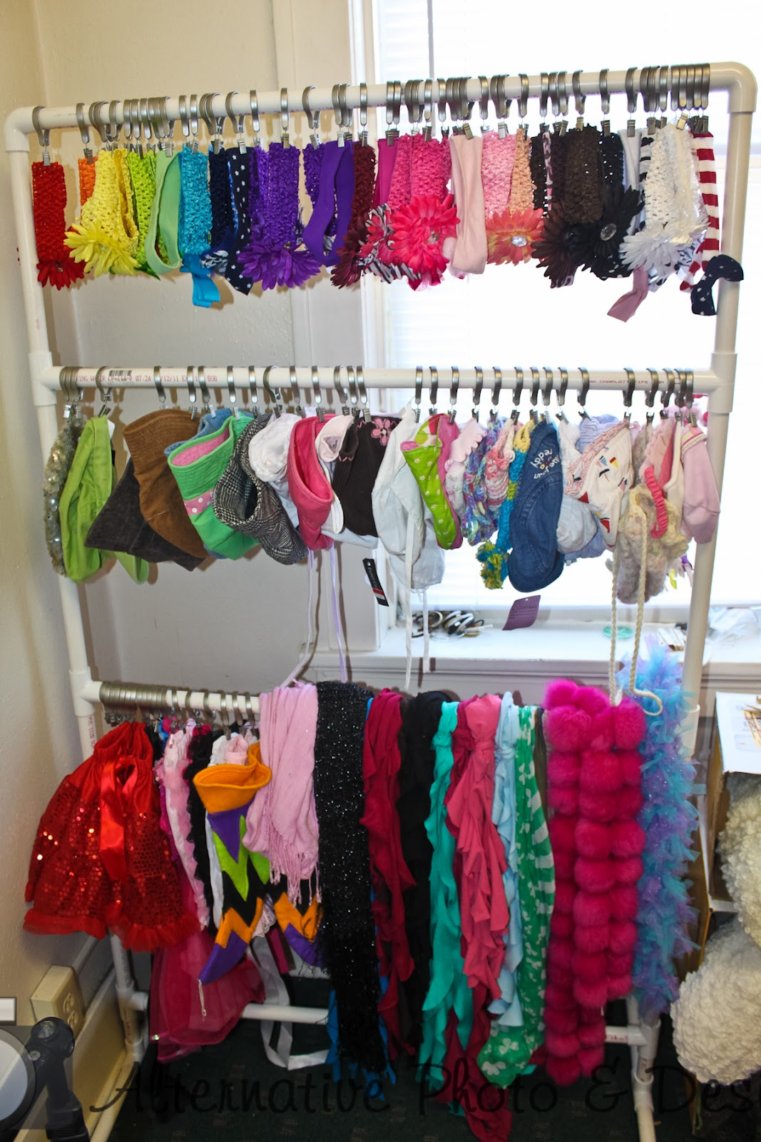 My studio organization ideas for Clothing display ideas for craft shows