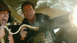 arnold movie, new schwarzenegger movie, border patrol, big guns, johnny knoxville