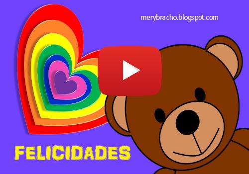 Video tarjeta de Cumpleaños de Amor Cristiano por Mery Bracho. Lindas frases y video corto para felicitar cumpleaños de niños, amigo, amiga, hijo, hija. Felicidades cumple.