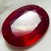 Batu Permata Ruby Natural Asli - Kode 22L02